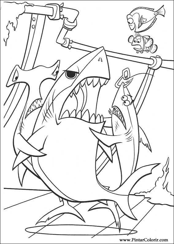 Pinturas y Color Buscando a Nemo - Diseño 018