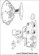 Pintar e Colorir Adiboo - Desenho 019