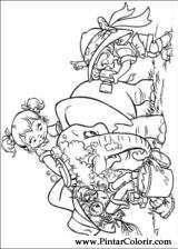 Pintar e Colorir Alvin Esquilos - Desenho 004