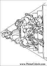 Pintar e Colorir Alvin Esquilos - Desenho 005