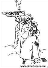Pintar e Colorir Anastasia - Desenho 009