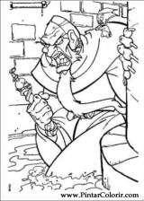 Pintar e Colorir Anastasia - Desenho 012
