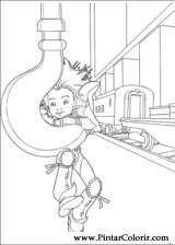 Pintar e Colorir Arthur Dois Mundos - Desenho 017
