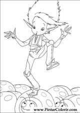Pintar e Colorir Artur Maltazard - Desenho 009