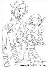 Pintar e Colorir Artur Maltazard - Desenho 011