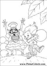 Pintar e Colorir Artur Maltazard - Desenho 013