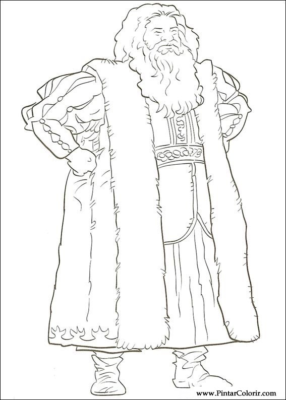 drawings to paint colour the chronicles of narnia print design 009