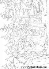 Pintar e Colorir As Cronicas De Narnia - Desenho 001