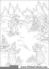 Pintar e Colorir As Cronicas De Narnia - Desenho 002