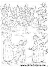 Pintar e Colorir As Cronicas De Narnia - Desenho 006