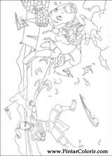 Pintar e Colorir Avatar - Desenho 003