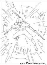 Pintar e Colorir Avatar - Desenho 006