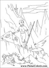 Pintar e Colorir Avatar - Desenho 016