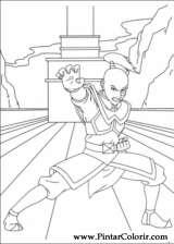 Pintar e Colorir Avatar - Desenho 031