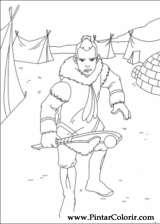Pintar e Colorir Avatar - Desenho 047