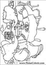 Pintar e Colorir Babar - Desenho 001