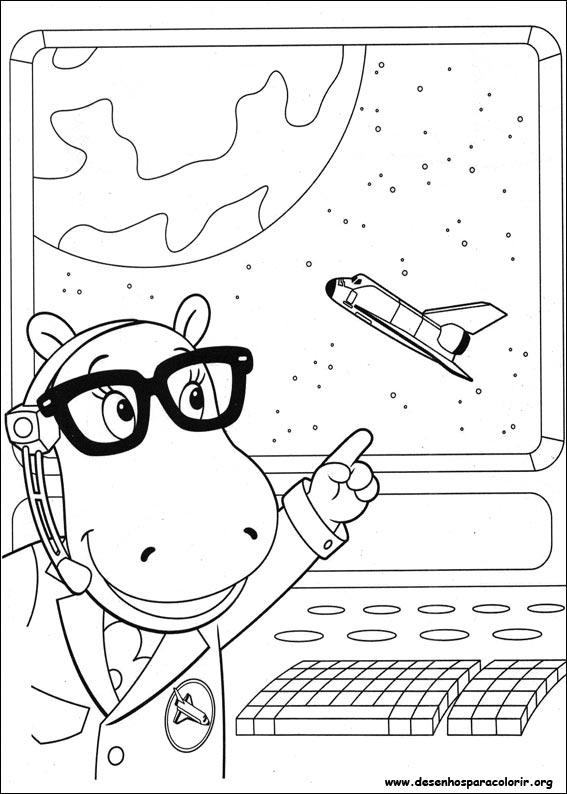 Dibujos para pintar y Color de Backyardigans - Página 2