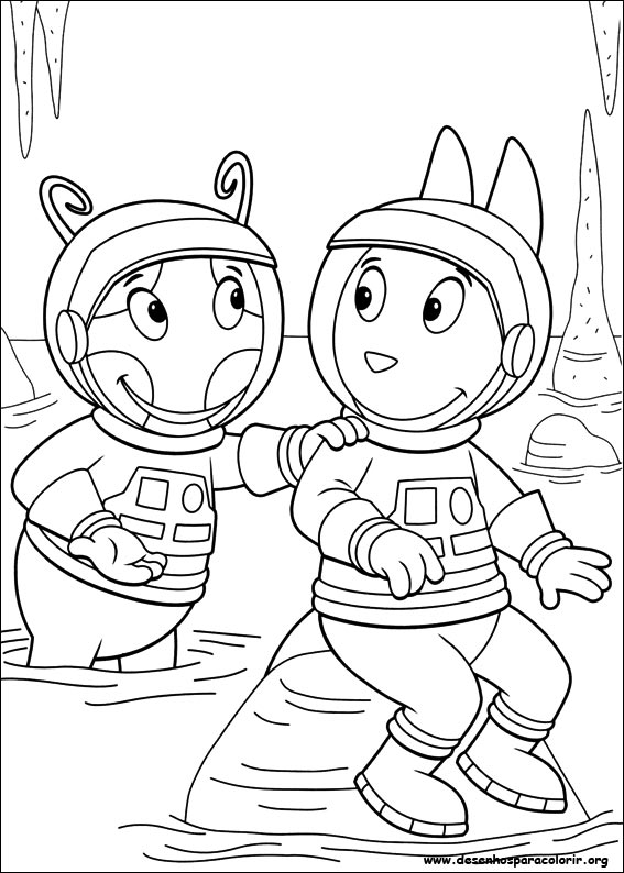 paint colour backyardigans 029 design - Backyardigans Coloring Pages Print