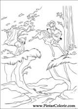 Pintar e Colorir Bambi 2 - Desenho 013