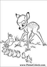 Pintar e Colorir Bambi 2 - Desenho 021