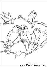 Pintar e Colorir Bambi 2 - Desenho 028