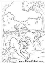 Pintar e Colorir Bambi 2 - Desenho 034