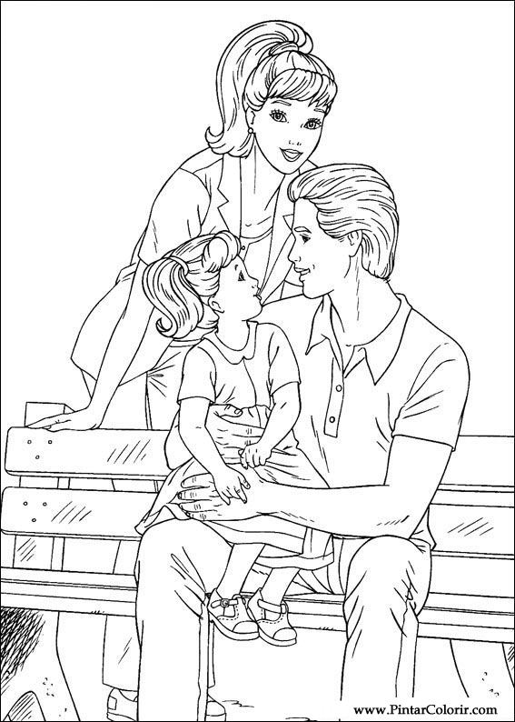barbie kelly coloring pages - photo#20