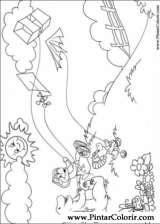 Pintar e Colorir Barney - Desenho 008