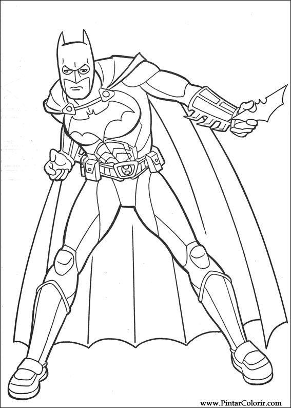 Dessins de peindre et couleur batman imprimer conception 109 - Dessin de batman ...