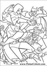Pintar e Colorir Batman - Desenho 056