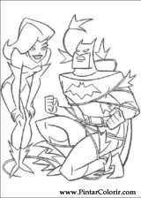 Pintar e Colorir Batman - Desenho 070