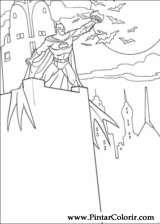 Pintar e Colorir Batman - Desenho 083