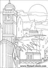 Pintar e Colorir Batman - Desenho 084