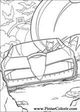 Pintar e Colorir Batman - Desenho 090