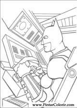 Pintar e Colorir Batman - Desenho 092
