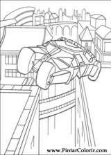 Pintar e Colorir Batman - Desenho 100