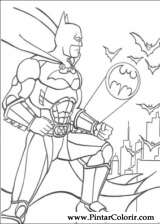 Pintar e Colorir Batman - Desenho 102