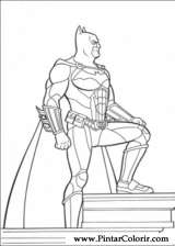 Pintar e Colorir Batman - Desenho 105