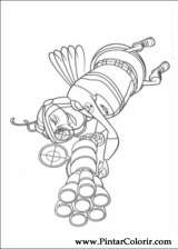 Pintar e Colorir Bee Movie - Desenho 003