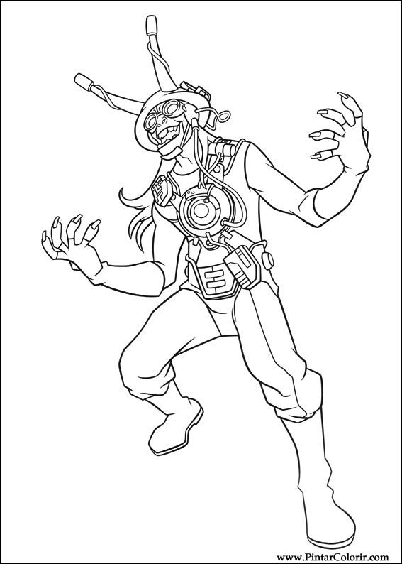 Pictures of Ben 10 Alien Force Chromastone Coloring Pages ...