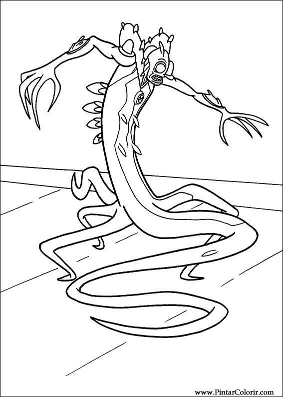 Desenhos para pintar e colorir ben 10 imprimir desenho 056 for Ben ten disegni da colorare per bambini