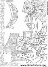 Pintar e Colorir Bob Esponja - Desenho 003