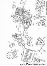Pintar e Colorir Bob Esponja - Desenho 008