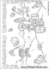 Pintar e Colorir Bob Esponja - Desenho 009