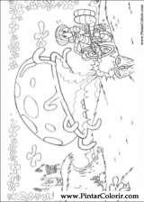 Pintar e Colorir Bob Esponja - Desenho 010