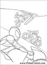 Pintar e Colorir Bolt - Desenho 005