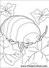 Pintar e Colorir Borrower Arrietty - Desenho 003