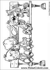 Pintar e Colorir Boule E Bill - Desenho 004