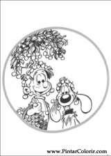 Pintar e Colorir Boule E Bill - Desenho 008