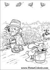 Pintar e Colorir Boule E Bill - Desenho 009